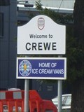 Image for Welcome to Crewe - Home of Ice Cream Vans - Crewe, Cheshire East, UK