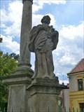 Image for The statues of Saint Roch, Saint Sebastian, Saint Nepomuk and Saint Rosalia - Tuchorice, Czech Republic