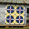 Image for Fan Quilt Square - Ephesus, GA