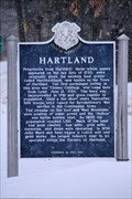 Image for Hartland Historical Marker