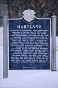 Image for Hartland Historical Marker