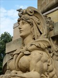 Image for Two Sphinx statues - Wasserturm, Mannheim, Baden-Württemberg, Germany