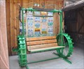 Image for Tractor Wheel Bench Swing