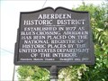 Image for Aberdeen Historic District (Sign # 2)