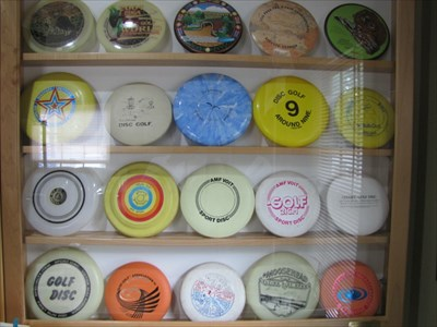 Golf Disc Display, IDGC, Appling, Georgia