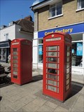 Image for Red Telephone Boxes - High Street, Epping, Essex, UK
