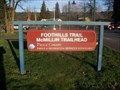 Image for FOOTHILLS RAILS to TRAILS - McMillin Trailhead