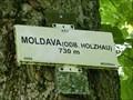 Image for Elevation Sign - Moldava.730m