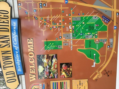 Old Town San Diego You Are Here You Are Here Maps On Waymarking Com