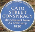 Image for Cato Street Conspiracy - Cato Street, London, UK