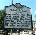 Image for Plank Roads, Fayetteville, North Carolina