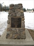 "Image for William ""Bill"" McGeachy Cairn - Rimbey, Alberta"