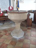 Image for Font, Church of Ss.Peter and Paul, Church Road, Bardwell, Suffolk. IP31 1AH.