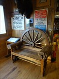 Image for Wagon Wheel Chair - Pahaska Tepee Gift Shop - Golden, CO