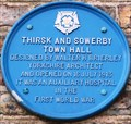 Image for Thirsk & Sowerby Town Hall, Kirkgate, Thirsk, N Yorks, UK