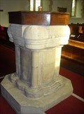 Image for Font - Church of St.Michael and All Angels, Bruisyard Road, Peasenhall, Suffolk. IP17 2HL.
