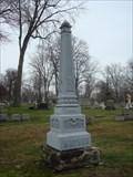 Image for Mather Zinc - Elmwood Cemetery - Detroit, MI