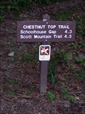 Image for Chestnut Top Trail (Hwy 73 end) - Great Smoky Mountains National Park, TN