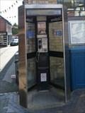 Image for Market Square Payphone - Stone, Staffordshire, UK.