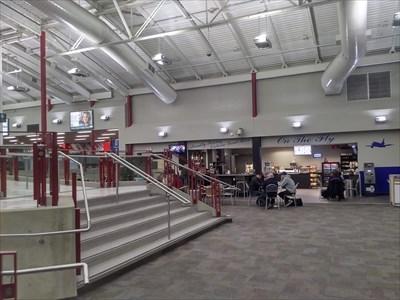 Inside London International Airport - London, Ontario