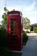 Image for Evanston Depot Telephone Box - Evanston, WY
