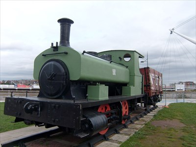 1911 Andrew Barclay 0-4-0 Steam, No.1260, Newport.