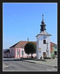Image for Bell Tower on a village square - Lešany (Central Moravia), Czech Republic
