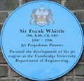 Image for Frank Whittle - Trumpington Street, Cambridge, UK