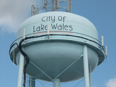 Lord Abercrombie visited Lake Wales Water Tower