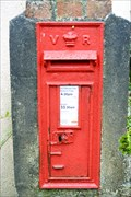Image for Victorian Post Box,  Polmear, Cornwall.