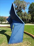 Image for Blue Untitled Sculpture - Daytona Beach, Florida, USA.