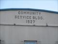 Image for 1927 - Community Service Building - Stirling, ON