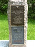 Image for RIDEAU LAKES MEMORIAL  --  Delta, Ontario