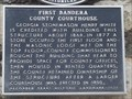 Image for First Bandera County Courthouse