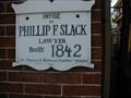 Image for Mt. Holly - Phillip F Slack House