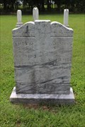 Image for FIRST Known Burial in Stone's Chapel Cemetery - Red River County, TX