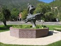 "Image for ""Snowshoe"" Thompson statue brick display - Genoa, NV"