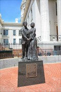 Image for Dred and Harriet Scott Statue - St Louis MO