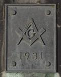 Image for Free Masons Obelisk - 1931 - Colchester, Vermont
