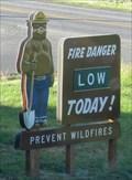 Image for Smokey Bear at Potlatch Ranger Station  - Potlatch , ID