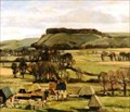 "Image for ""Sharpenhoe Clappers from Harlington Hill"" by Stanley Orchart – Barton Road, Harlington, Beds, UK"