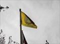 Image for Town of Los Gatos flag at plaza - Los Gatos, California