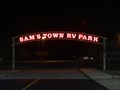 Image for Sams Town RV Park Neon Sign
