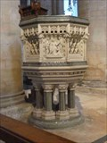 Image for Pulpit, St Mary the Virgin (Tewkesbury Abbey), Tewkesbury, Gloucestershire, England