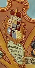 Image for House of Eggenberg Coat of Arms - Castle Chapel of St George - Ljubljanski Grad - Ljubljana