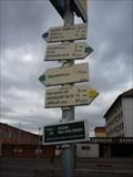 Image for Rozcestnik na autobusovem nadrazi - Oslavany, Czech Republic