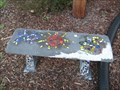 Image for Mosaic bench - Princeton Arts Center - Johnson City, TN