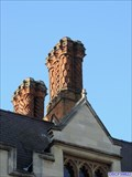 Image for Scott's Building Chimneys - King's College, King's Parade, Cambridge, UK