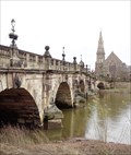 Image for English Bridge - Masonary Viaduct - Shrewsbury, Shropshire, UK.