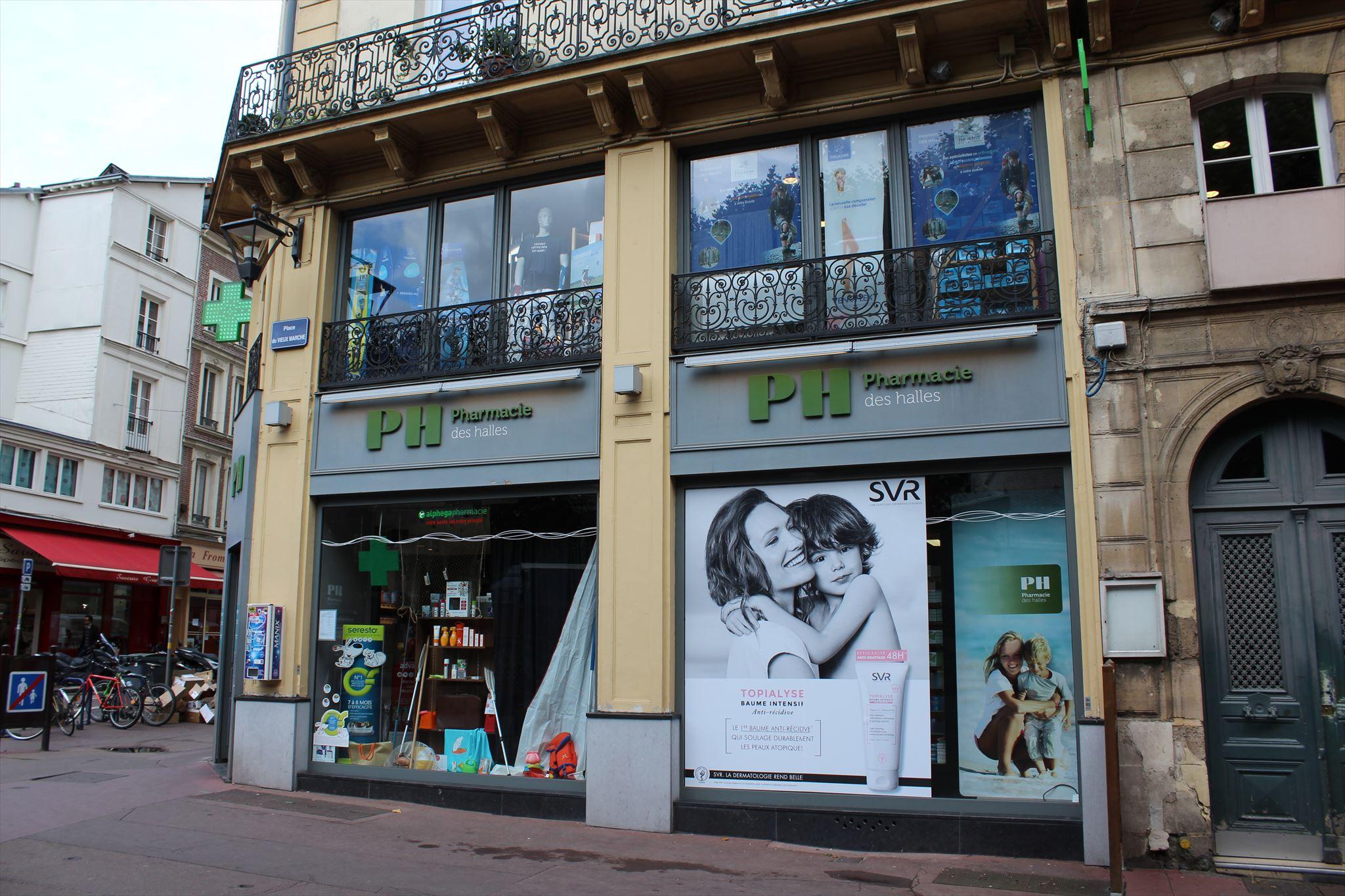 Pharmacie des halles rouen france independent for Pharmacie de la piscine